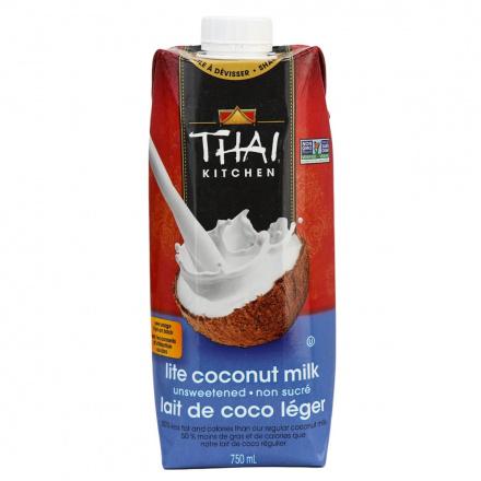 Thai Kitchen Unsweetened Lite Coconut Milk, 750ml