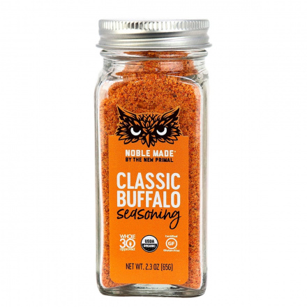 The New Primal Classic Buffalo Seasoning, 65g