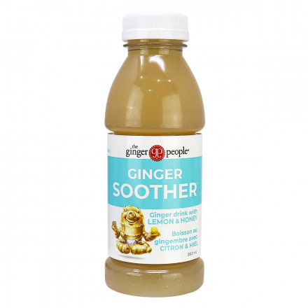 The Ginger People Ginger Soother Drink with Lemon & Honey, 360ml