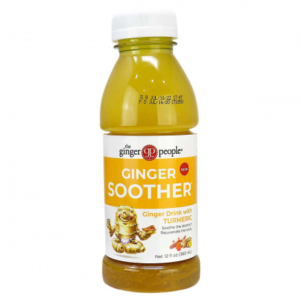 The Ginger People Ginger Soother Drink with Turmeric, 360ml