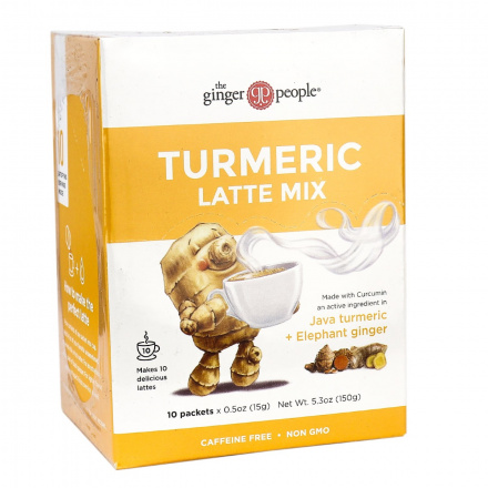 The Ginger People Turmeric Latte Mix 10 packets, 150g