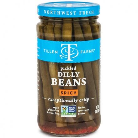 Tillen Farms Hot & Spicy Crispy Beans, 375ml