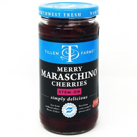 Tillen Farms Merry Maraschino Cherries, 383g
