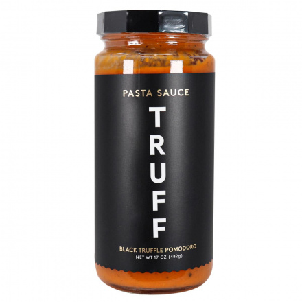 Front of Truff Pasta Sauce Black Truffle Pomodoro, 482g