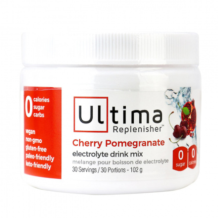 Ultima Replenisher Electrolyte Drink Mix Cherry Pomegranate, 30 Servings