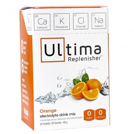 Ultima Replenisher Electrolyte Drink Mix Orange, 20 Packets