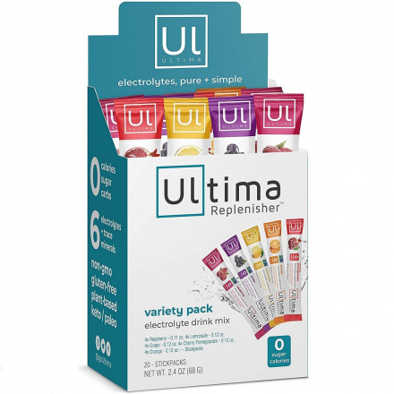 Ultima Replenisher Electrolyte Drink Mix Variety Pack, 20 Packets