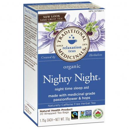 Traditional Medicinals Organic Nighty Night Tea, 20 tea bags