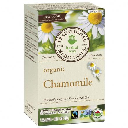 Traditional Medicinals Organic Chamomile Tea, 20 tea bags