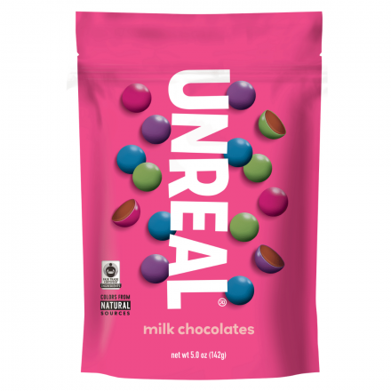Unreal Milk Chocolate Gems, 142g