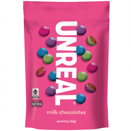 Unreal Milk Chocolate Gems, 170g