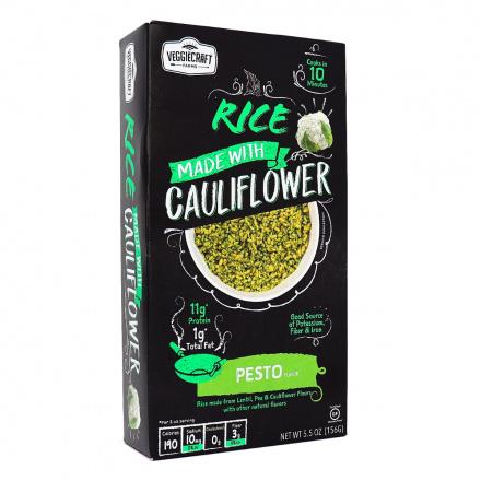 VeggieCraft Farms Cauliflower Rice Pesto, 156g