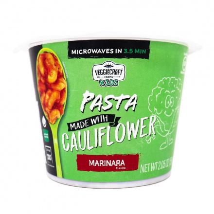 VeggieCraft Farms Kids Cauliflower Pasta Marinara, 58g