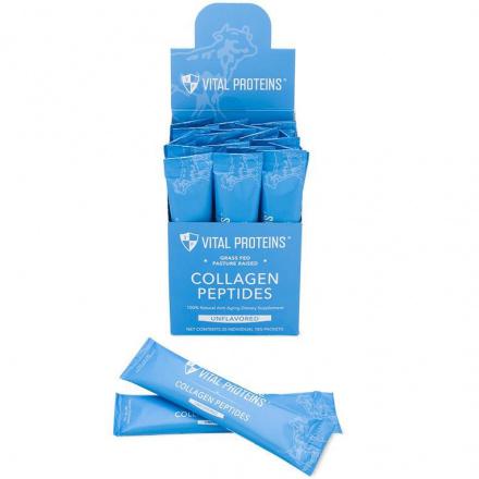 Vital Proteins Pasture-Raised, Grass-Fed Collagen Peptides, 20 Sticks