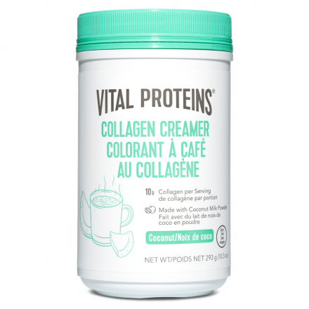 Front of Vital Proteins Collagen Creamer - Coconut, 293g Front