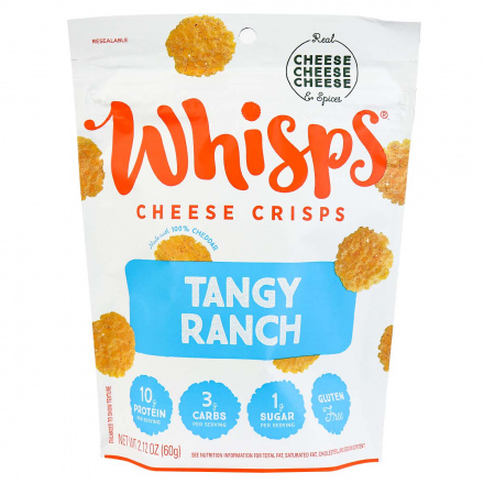 Whisps Tangy Ranch Cheese Crisps, 60g