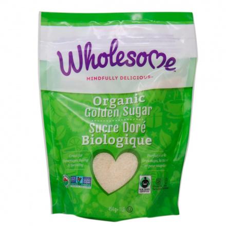 Wholesome Sweeteners Organic Golden Sugar, 454g