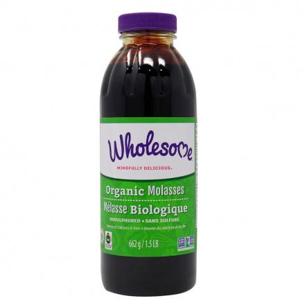 Wholesome Sweeteners Organic Molasses, 662g
