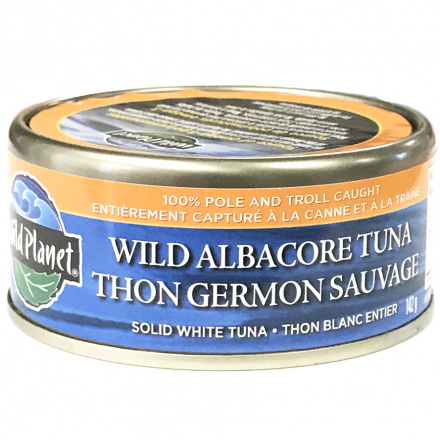 Wild Planet Non-GMO Wild Albacore Tuna, 142g