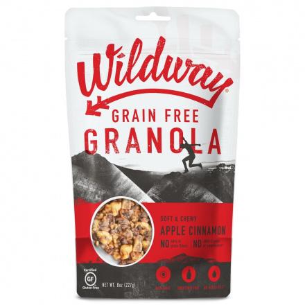 Wildway Grain-Free Granola Apple Cinnamon, 227g