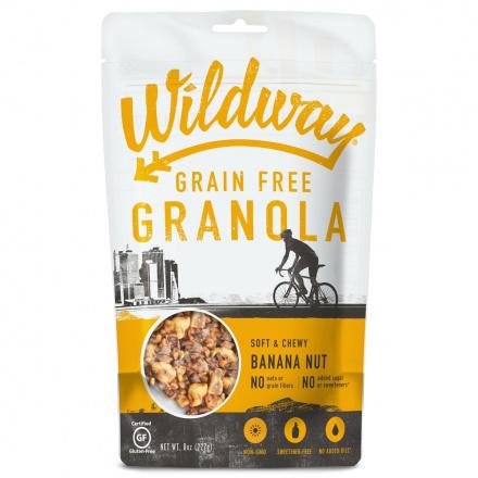Wildway Grain-Free Granola Banana Nut, 227g