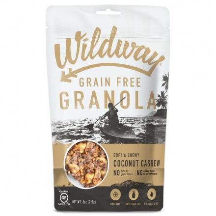 Wildway Grain-Free Granola Coconut Cashew, 227g