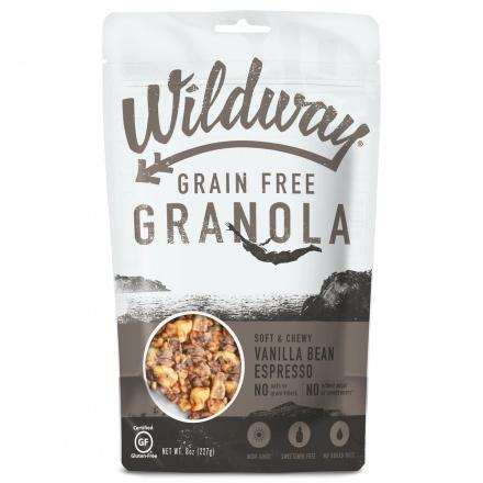 Wildway Grain-Free Granola Vanilla Bean Espresso, 227g