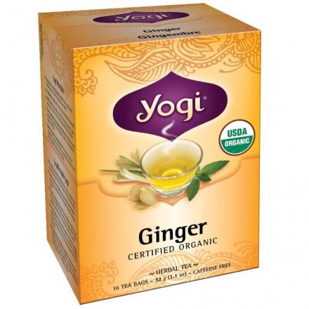 Yogi Tea Organic Ginger Tea, 16 Bags