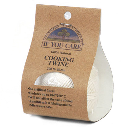 If You Care Natural Cooking Twine, 200 ft