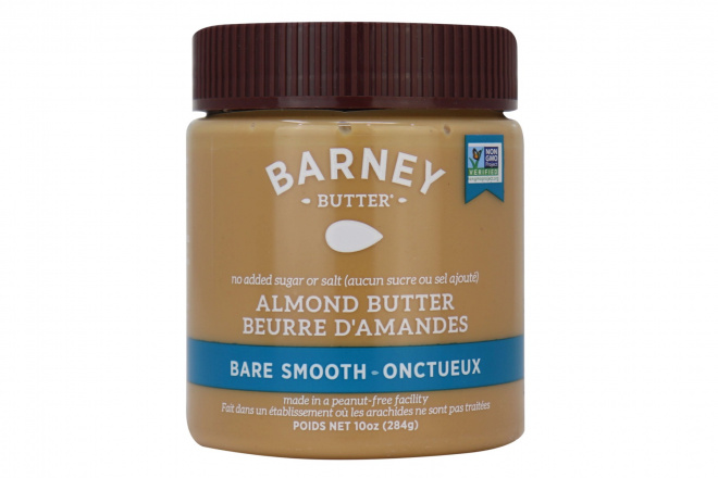 Barney Butter Bare Smooth Almond Butter, 284g