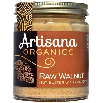Artisana Organic Raw Walnut Butter with Cashews, 227g