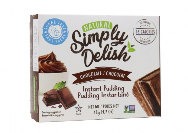 Simply Delish Sugar Free Chocolate Pudding, 48g