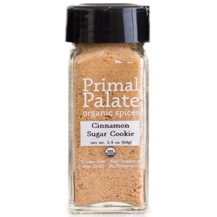 Primal Palate Organic Spices Cinnamon Sugar Cookie Blend, 68g