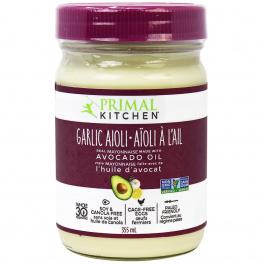 Primal Kitchen Garlic Aioli Mayo, 355ml