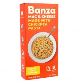 Banza Chickpea Pasta Classic Cheddar Mac & Cheese, 156g