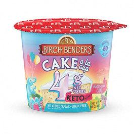 Birch Benders Grain-Free Keto Cake a la Cup Birthday Cake, 42g
