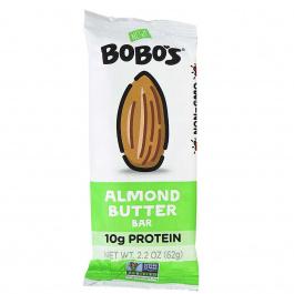 Bobo's Gluten-Free Almond Butter Bar, 62g