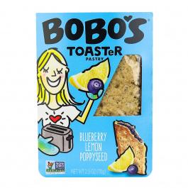 Bobo's Gluten-Free Toaster Pastry Blueberry Lemon Poppyseed, 70g