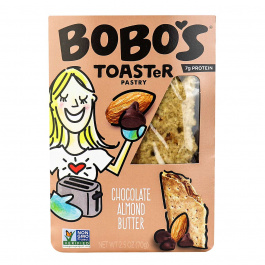 Bobo's Gluten-Free Toaster Pastry Chocolate Almond Butter, 70g