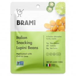 Brami Italian Snacking Lupini Beans Sea Chili & Lime, 150g