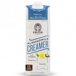Califia Farms Almond Milk Creamer Vanilla, 946ml
