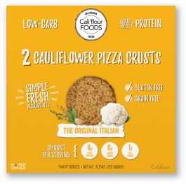 Cali'flour Foods Cauliflower Pizza Crust - The Original Italian, 2 Crusts