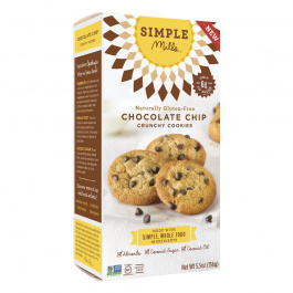 Simple Mills Chocolate Chip Crunchy Cookies, 156g