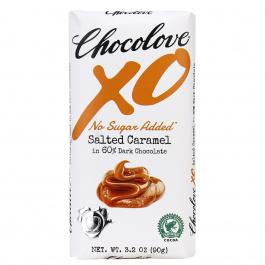 Chocolove XO No Sugar Added Salted Caramel 60% Dark Chocolate, 90g