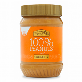 Crazy Richard's Crunchy Peanut Butter, 453g