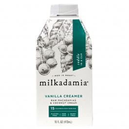 Milkadamia Macadamia Vanilla Creamer, 473 mL