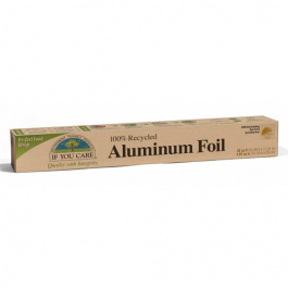 If You Care 100% Recycled Aluminum Foil Roll, 50 sq ft roll