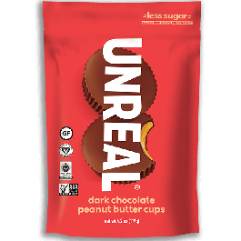 Unreal Dark Chocolate Peanut Butter Cups, 119g