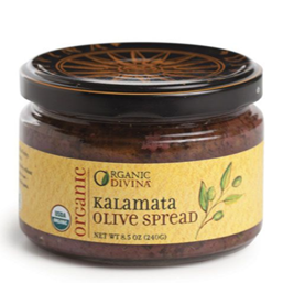 Divina Organic Kalamata Olive Spread, 230g