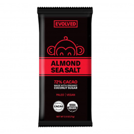 Eating Evolved 72% Almond & Sea Salt Primal Chocolate, 71g